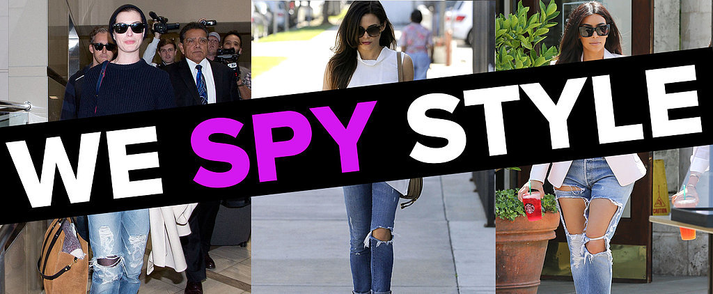 We Spy: Did Kim Kardashian Go TOO Far With These Ripped Jeans?