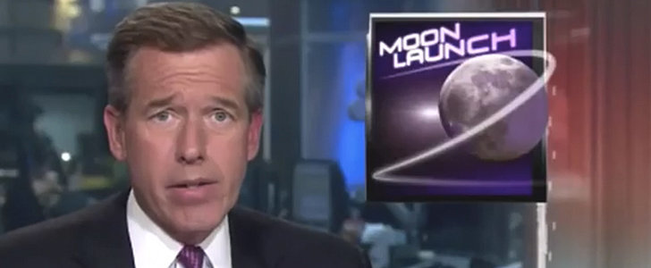 "Here's Brian Williams Rapping Ludacris's ""Rollout"" as He Requested"