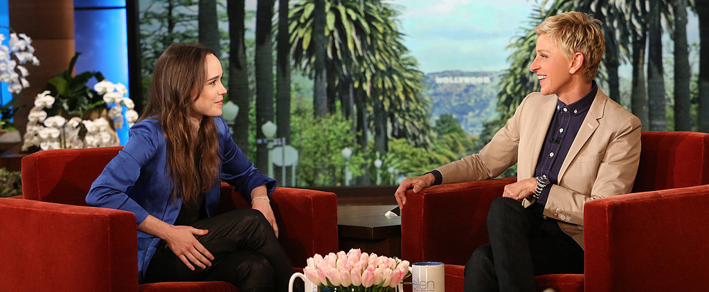 Ellen Page and Ellen DeGeneres Have a Moving Talk About Coming Out