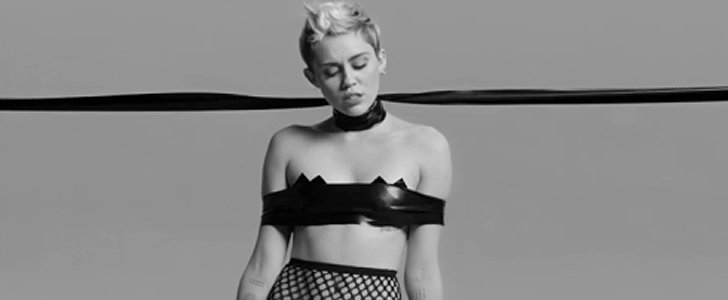Miley Cyrus Shares a New S&M-Inspired — and NSFW — Video