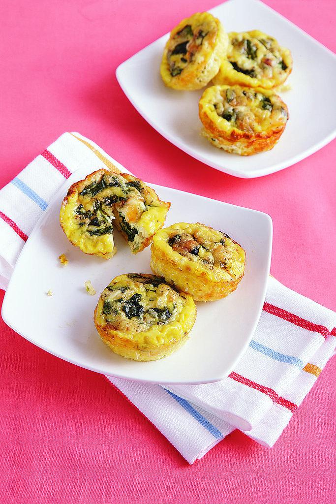 Savory Breakfast Cupcakes
