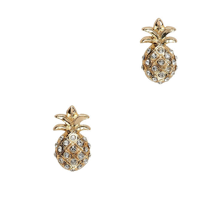 Aéropostale Pineapple Earrings