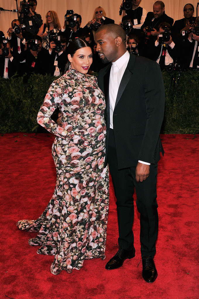 Kim Kardashian and Kanye West — 2013