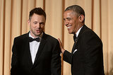 How Joel McHale Got President Obama to Laugh This Hard
