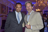 Senator Rich Taylor hung out with Veep's Gary Cole.