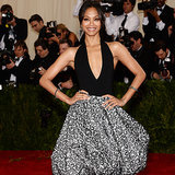 Zoe Saldana Brings Her Custom Smile to the Met Gala