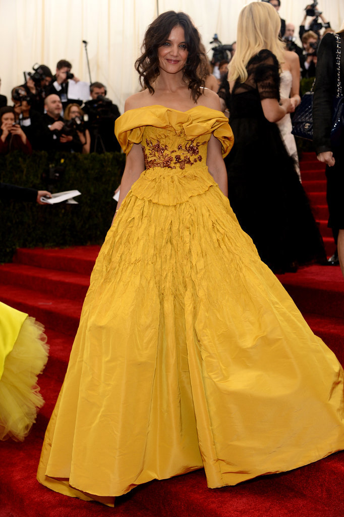 Katie Holmes Makes a Bold Belle Move For the Met Gala