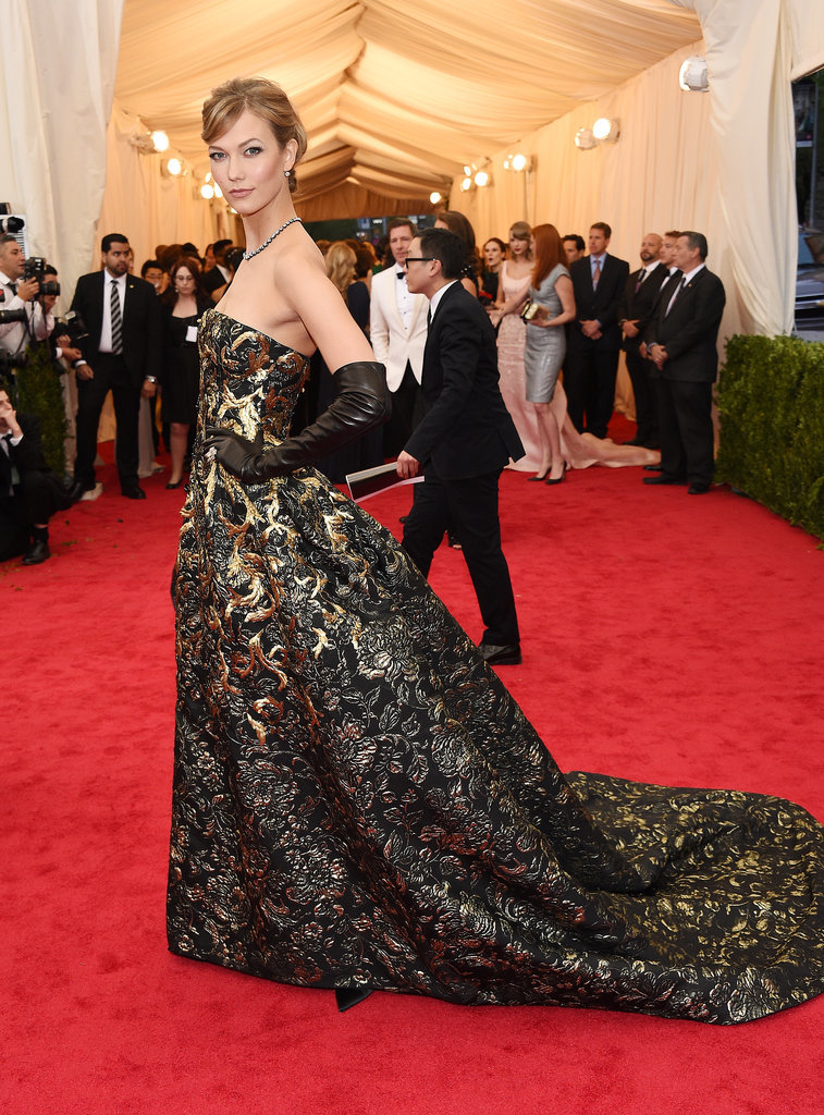 Karlie Kloss at the 2014 Met Gala