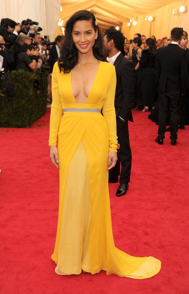 Olivia Munn at the 2014 Met Gala