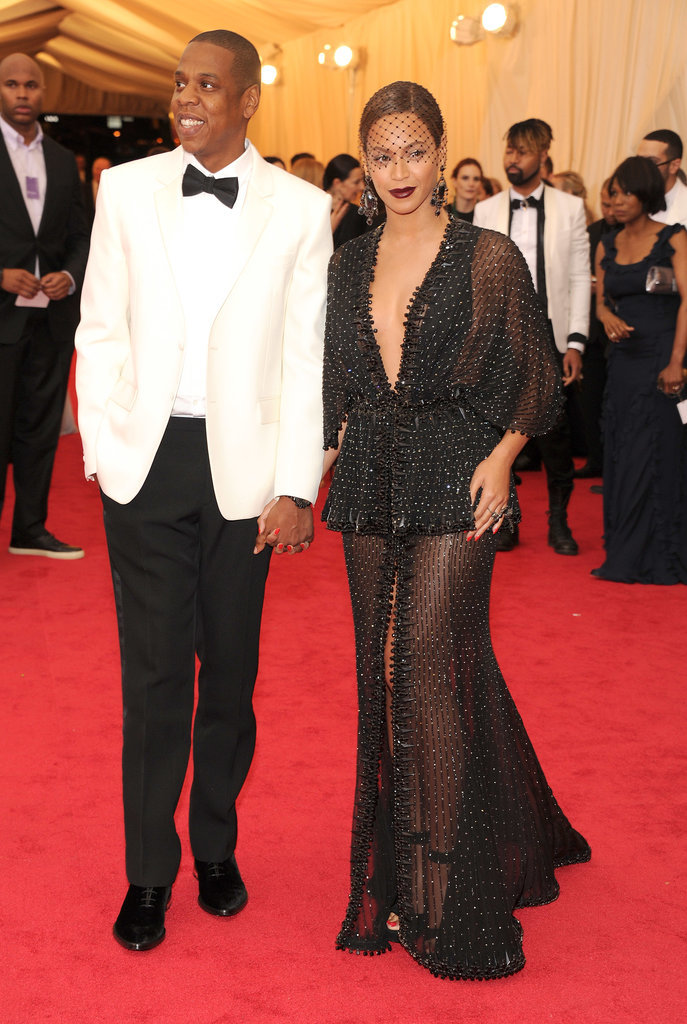 Beyoncé and Jay Z made a high-profile appearance at the Met Gala in NYC, closing down the red carpet with their arrival.