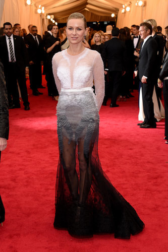 Naomi Watts at the 2014 Met Ga