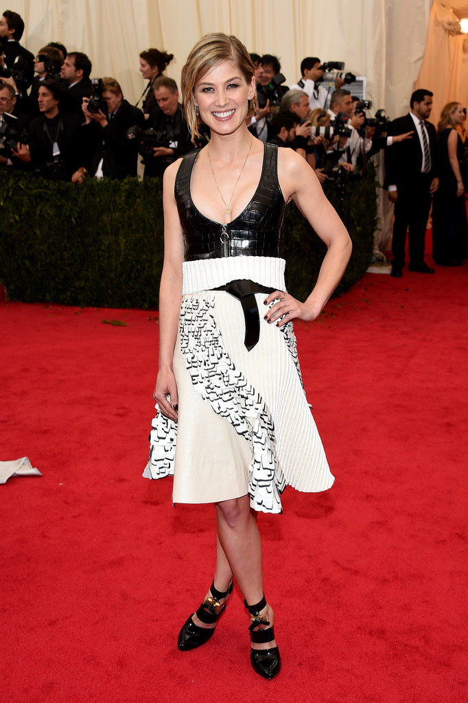 Rosamund Pike at the 2014 Met Gala