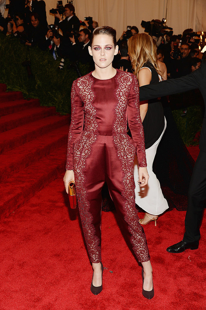 Kristen Stewart at the 2013 Met Gala