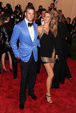 Tom Brady and Gisele Bündchen at the 2013 Met Gala