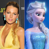 Does Blake Lively Look Like Elsa From Frozen?