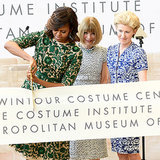 Did Michelle Obama or Her Dress Make Anna Wintour Smile?