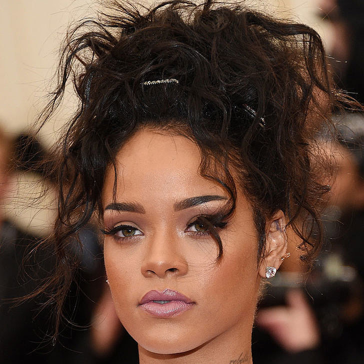 pictures of rihanna hair and makeup 2014 met gala
