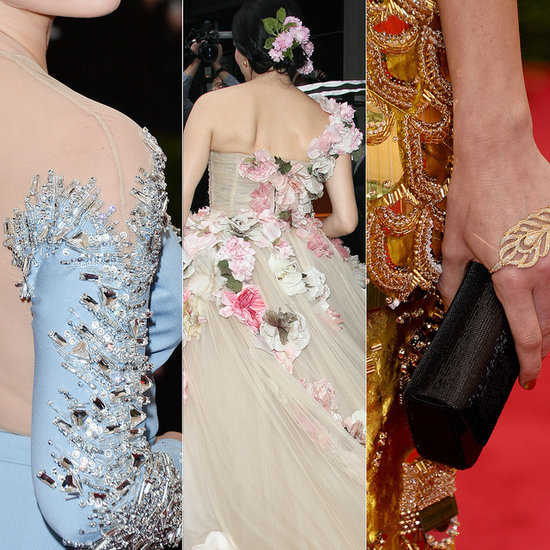2014 Met Gala Dress and Jewellery Detail Pictures