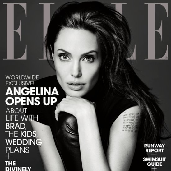Angelina Jolie Interview in Elle About Brad Pitt June 2014