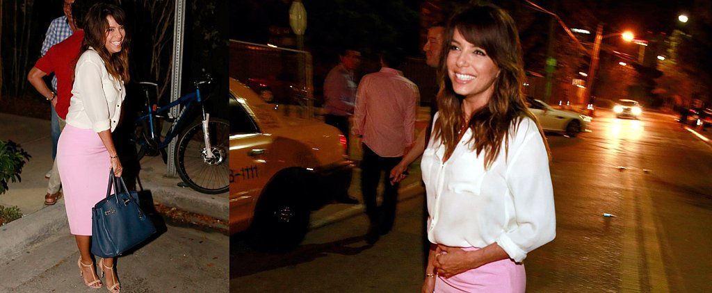 Eva Longoria's Surprisingly Sexy (and Easy!) Date-Night Outfit