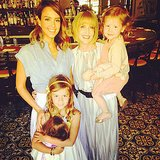 Jessica Alba spent time with mom Cathy and daughters Haven and Honor.  Source: Instagram user jessicaalba