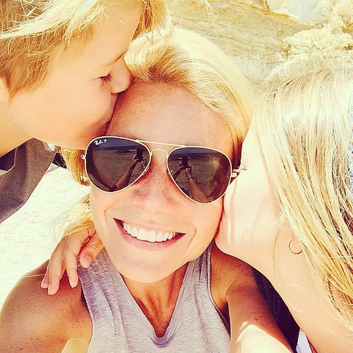 Gwyneth Paltrow was feeling the love of her two children, Apple and Moses Martin, on Mother's Day. Source: Instagram user gwynethpaltrow