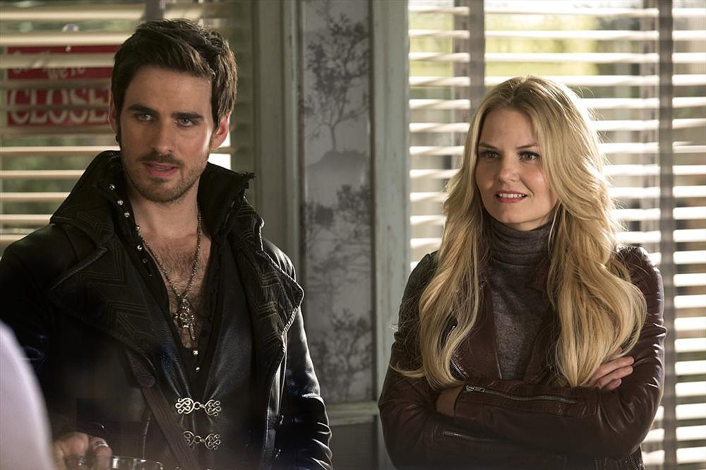 Captain Hook and Emma