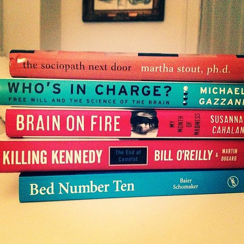 """Momma V sent books. Always interesting conversations . . . ,"" wrote jaja_land."