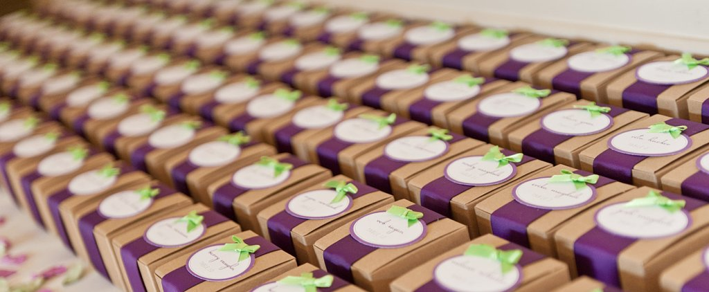 11 Ways to Save on Wedding Favors