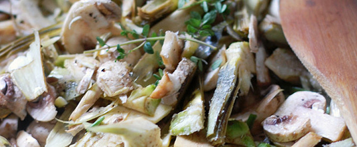 Salute Spring With This Warm Artichoke and Mushroom Salad