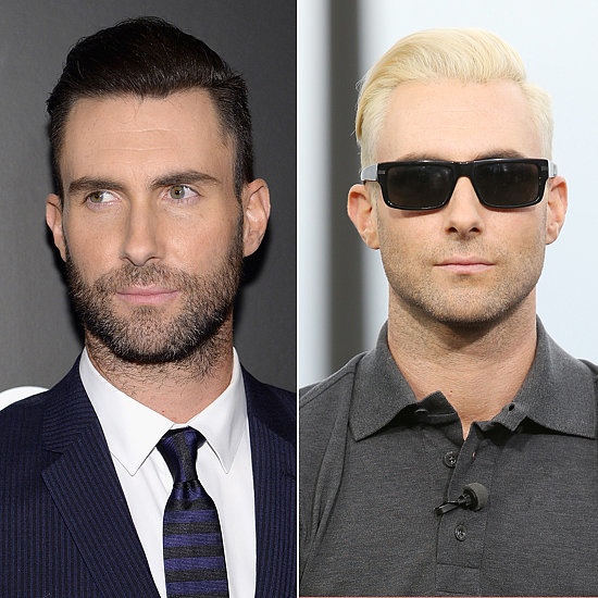 Does Adam look better as a brunet or blond?