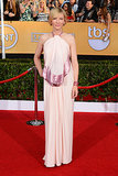 Cate Blanchett in a Pink Givenchy Halter at the 2014 SAG Awards