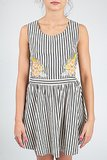 JOA Striped Dress