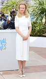 Nicole Kidman posed at the Grace of Monaco photocall at Cannes Film Festival on Wednesday.