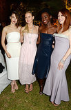 Rooney Mara, Naomi Watts, Lupita Nyong'o and Julianne Moore attended a Calvin Klein bash in Cannes, France, on Thursday.