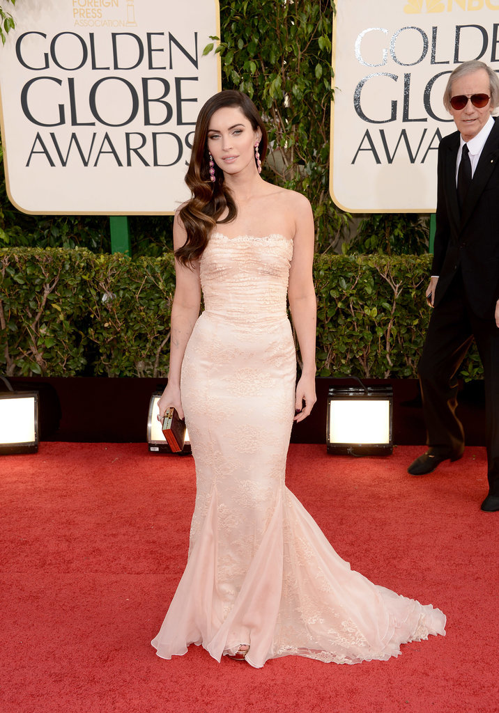 Megan Fox in Dolce & Gabbana at the 2013 Golden Globes