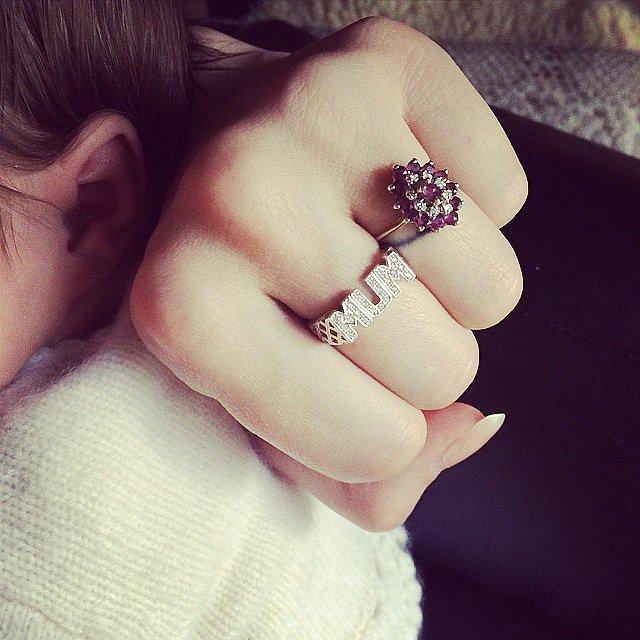 "A ""Mum"" Ring"