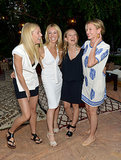 Gwyneth Paltrow, Vicky Vlachonis, Jennifer Meyer, and Cameron Diaz shared a big laugh at a Goop party in LA on Thursday.