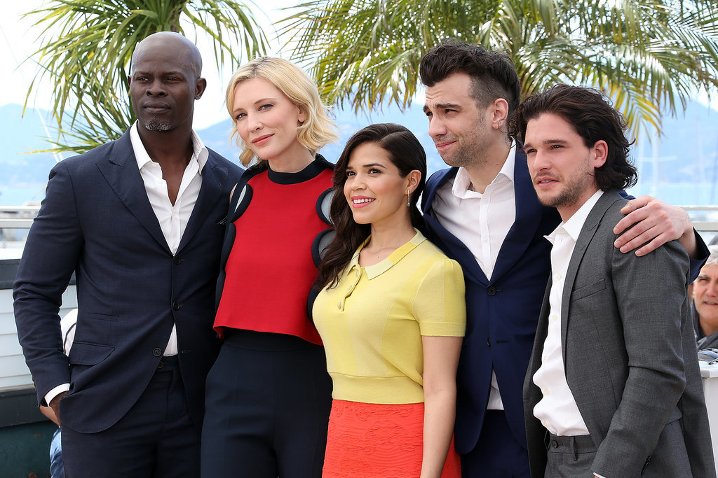 The cast of How to Train Your Dragon 2 met up for a sunny photo op on Friday.