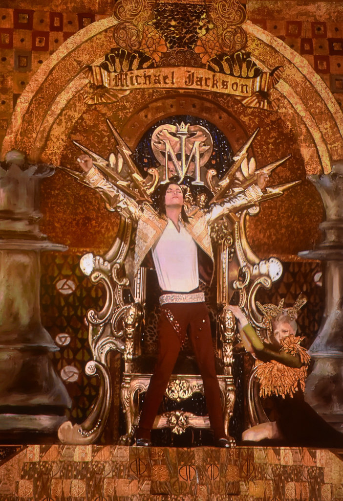 "A hologram of Michael Jackson took center stage to debut the song ""Slave to the Rhythm"" and honor the late King of Pop at the Billboard Music Awards in Las Vegas."
