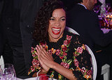 Rosario Dawson smiled big at a Sunday bas for The Expendables 3.