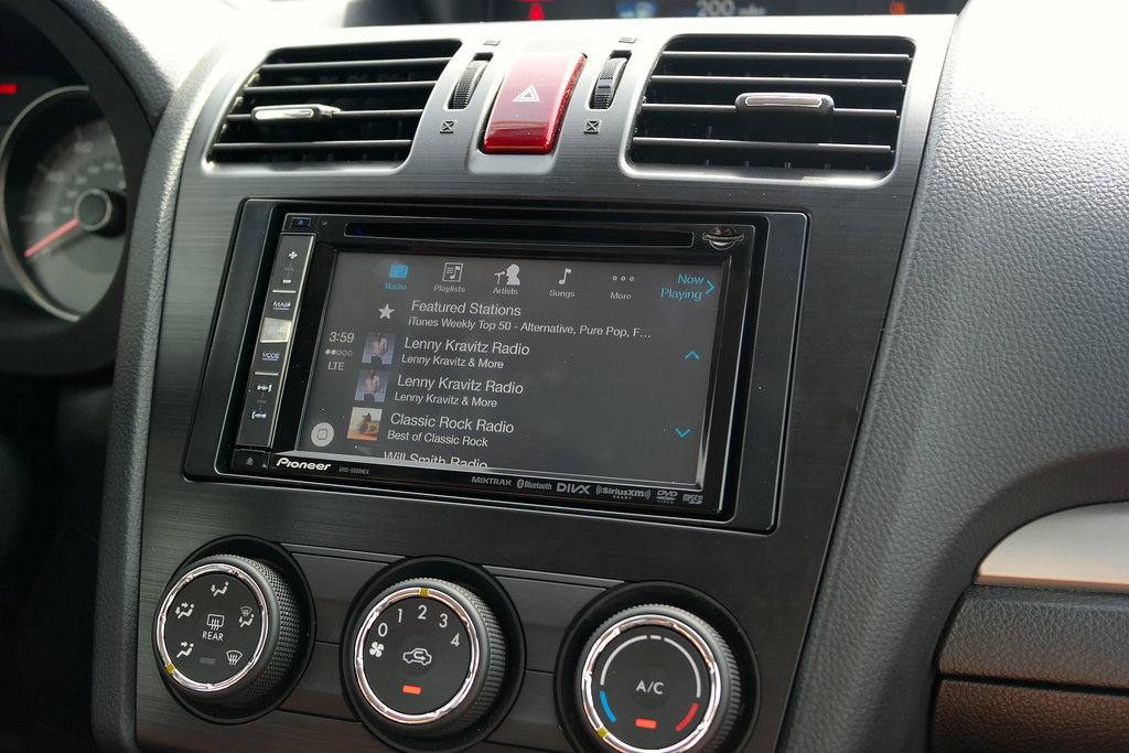 Play iTunes Radio through CarPlay.