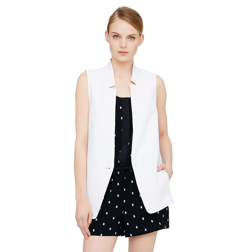Club Monaco Sleeveless Blazer