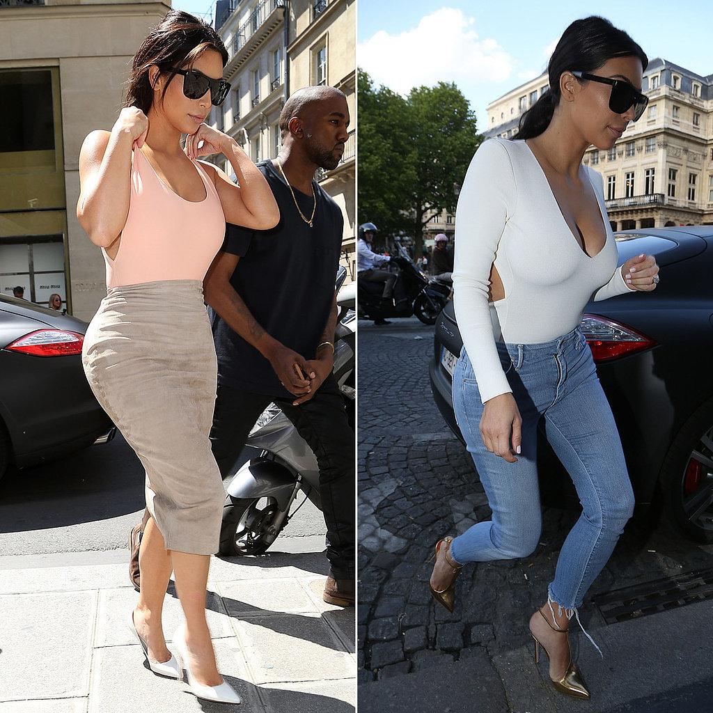 So Style Blog Evoluci N Del Estilo De Kim Kardashian