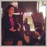 Salma Hayek gave an interview. Source: Instagram user hollywoodreporter