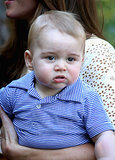 Prince George showed us just how big he was getting during the royal tour down under in April 2014.