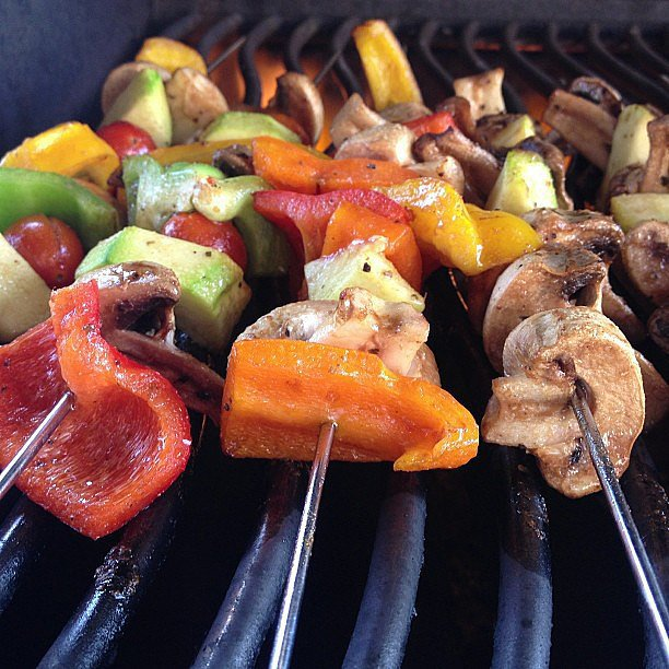 Colorful Skewers