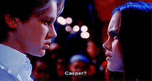 Then She Kissed Casper! As in, Devon Sawa!