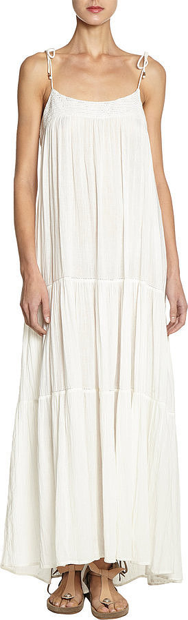 Ulla Johnson White Maxi Dress