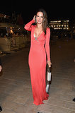 Alessandra Ambrosio at the Annual Roberto Cavalli Party